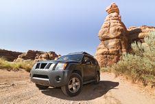 Free Desert Road Stock Image - 15509691