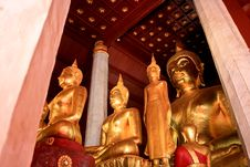 Free Golden Of Buddha2 Stock Image - 15509761