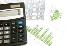 Free Calculator And Chart Stock Photos - 15509963