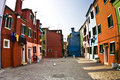 Free Colorful Fishermens Houses In Borano Royalty Free Stock Photography - 15510977