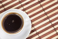 Free Coffee At Wood Table Stock Photography - 15512892
