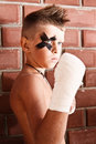 Free A Little Kick-boxing Boy Royalty Free Stock Images - 15513909