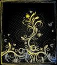 Free Floral Grunge Background Stock Image - 15516221