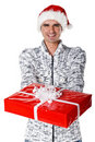 Free Man With Nice Gift Royalty Free Stock Photo - 15519565