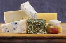 Free Cheese Antipasto Varieties Stock Photography - 15510192