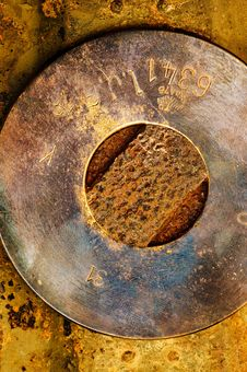 Free Grungy Metal Background Stock Photo - 15510200