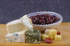 Free Cheese Varieties Stock Photography - 15510252