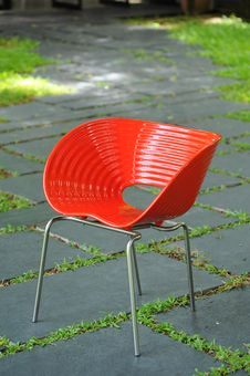 Free Red Chair Stock Photo - 15510340