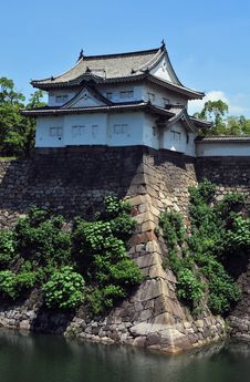 Free Osaka Castle Gatehouse Stock Photo - 15510650
