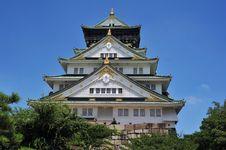Free Osaka Castle Stock Image - 15510691