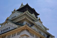 Free Osaka Castle Stock Photography - 15510712