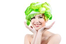 Free Cabbage Hat Stock Photos - 15510973