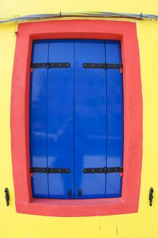 Free Colorful Facade Of An Old Fishermans House Stock Images - 15511024