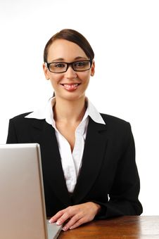 Free Attractive Brunette Business Woman Royalty Free Stock Photography - 15511237