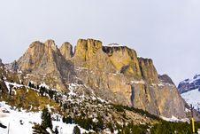 Free Dolomite Mountains, Sella Pass Stock Photo - 15511340