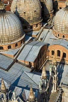 Free Overlooking The Marcus Church In Venice Royalty Free Stock Photography - 15511687