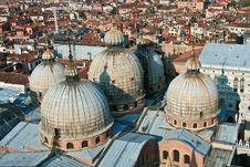 Free Basilica De San Marco From The Top Stock Images - 15511774