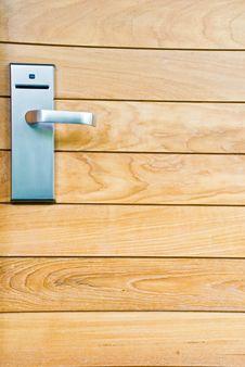 Free Wood Door Royalty Free Stock Photos - 15511878