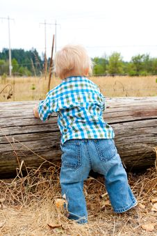 Free 1 Year Old Boy Stock Images - 15512034