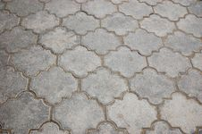 Pavement Tiles Royalty Free Stock Photos