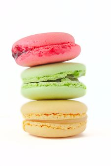 Free French Dessert. Macaroons Royalty Free Stock Image - 15512706