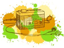 Free Tape Recorder Royalty Free Stock Images - 15512889