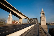 Free Old Bangkok Bridge Stock Image - 15513291