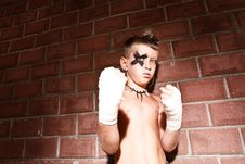 Free A Little Kick-boxing Boy Royalty Free Stock Photos - 15513718