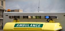 Ambulance Lights Royalty Free Stock Photography
