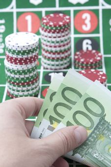 Casino Stock Photo