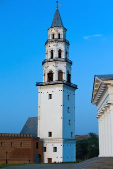 Neviansk Tower- Leaning Tower Royalty Free Stock Photos