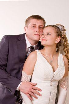 Free Happy Newly-wed Royalty Free Stock Photos - 15514438