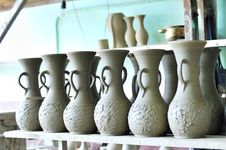 Free Drying Ceramic Vase Stock Photography - 15515522