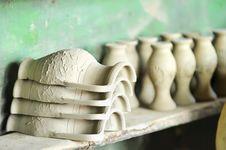 Free Drying Ceramic Vase Royalty Free Stock Photos - 15515528
