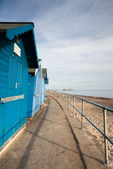 Free Beach Huts Royalty Free Stock Photography - 15515697