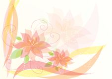 Free Elegant Floral Background Royalty Free Stock Photography - 15515887