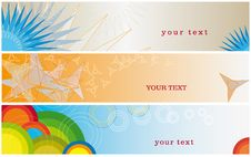 Free Banner - Geometrical Sign Royalty Free Stock Photos - 15516068