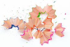 Free Pencil Shavings Stock Photo - 15516930