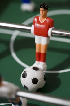 Tabletop Soccer Royalty Free Stock Images