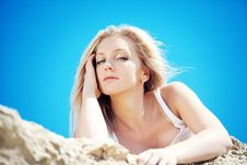 Free Young Beautiful Blonde Stock Image - 15517091