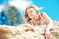 Free Young Beautiful Blonde Royalty Free Stock Images - 15517109