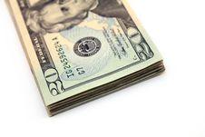 Free Twenty Dollar Bill Royalty Free Stock Image - 15517136
