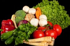 Free Various Vegetables Stock Photos - 15517273