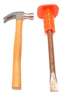 Hammer And Chisel Stock Photos