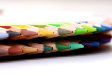 Free Color Pencils Royalty Free Stock Photo - 15518445