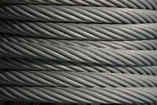 Close Up Of Steel Coil Stock Photography