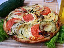 Free Zucchini Pie 4 Royalty Free Stock Photo - 15519455