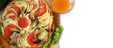 Zucchini Pie 5 Stock Image