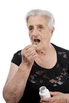 Free Elderly Woman Royalty Free Stock Photography - 15519897