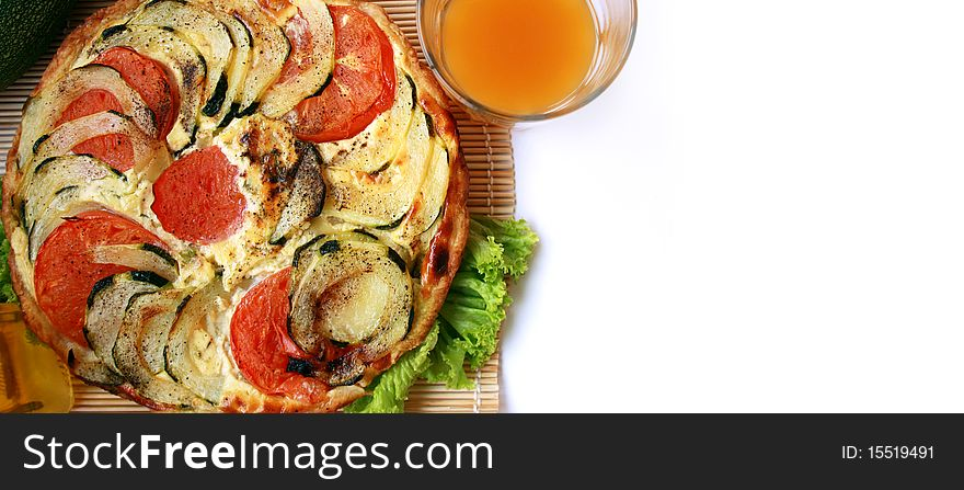 Zucchini pie 5